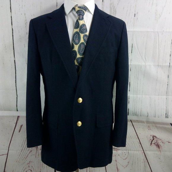 Stanley Blacker Other - Stanley Blacker Navy Blue Suit Blazer Sports Coat